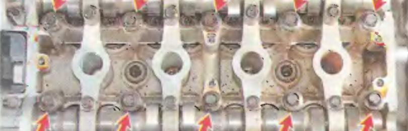 Замена головки блока цилиндров Chevrolet Lacetti