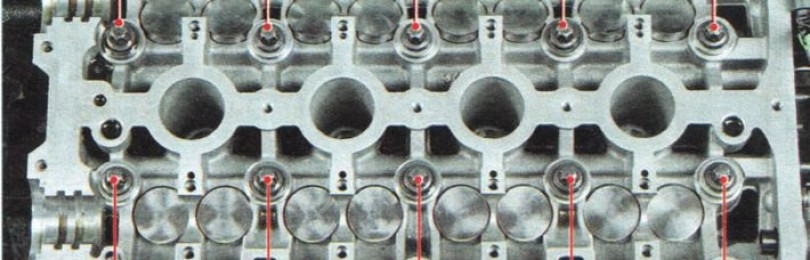 Замена прокладки головки блока цилиндров Шевроле Авео