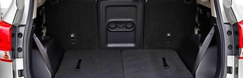 Объём багажника Киа Каренс