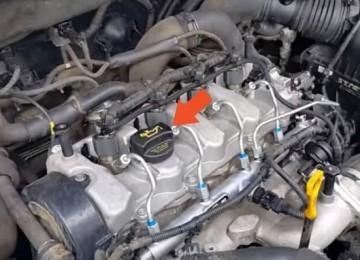 Замена масла Hyundai Tucson
