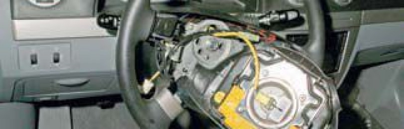 Замена рулевого колеса Chevrolet Lacetti