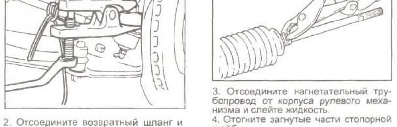 Замена рулевой рейки Хендай Старекс