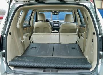 Объём багажника Киа Мохав