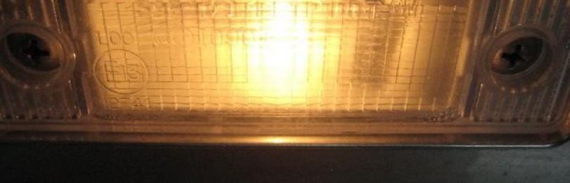 Замена ламп подсветки номера Шевроле Круз