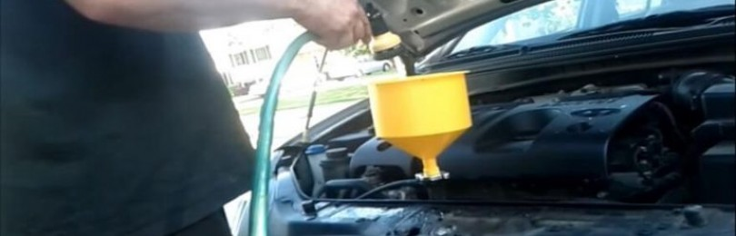 Замена охлаждающей жидкости Хендай Солярис