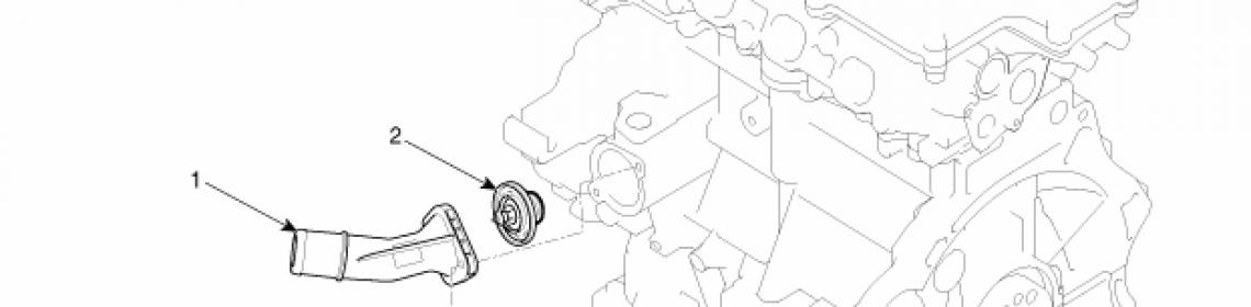 Замена термостата Kia Ceed