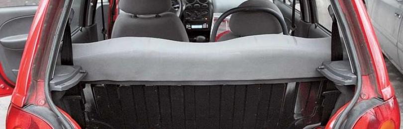 Объём багажника Дэу Матиз