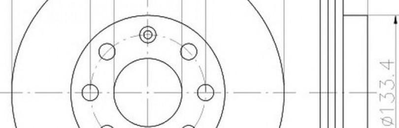 Замена передних тормозных дисков Шевроле Авео