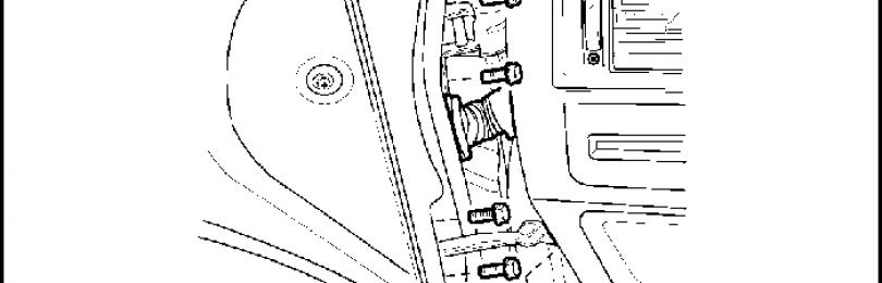 Как снять дверь на Chevrolet Lacetti
