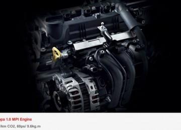 Объём двигателя Киа Пиканто