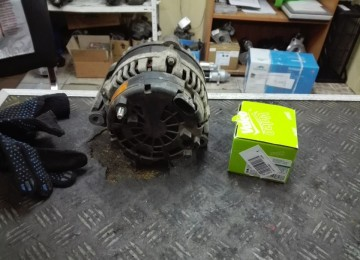 Ремонт генератора СсангЙонг Кайрон