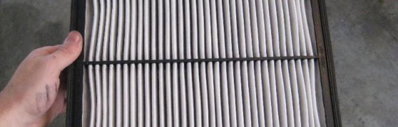 Замена воздушного фильтра Киа Соренто