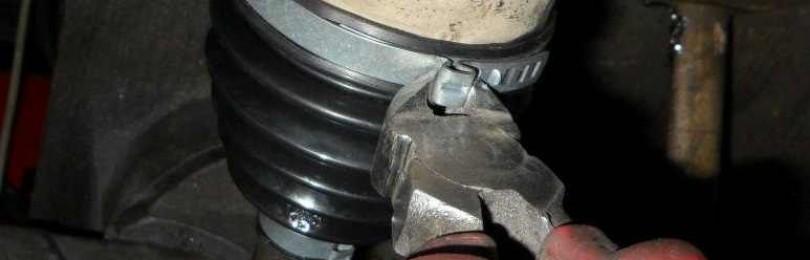 Замена пыльника наружного шруса Chevrolet Aveo