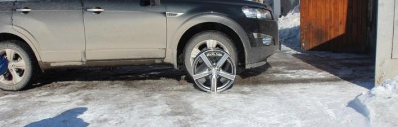 Разболтовка колёс Шевроле Каптива