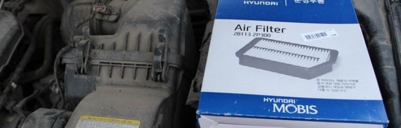 Воздушный фильтр Хендай Санта Фе