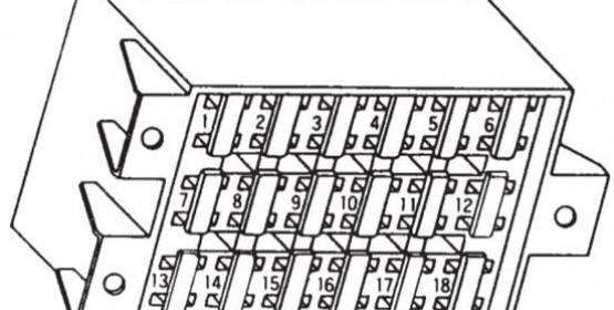 Схема электрооборудования Daewoo Espero (Деу Есперо)