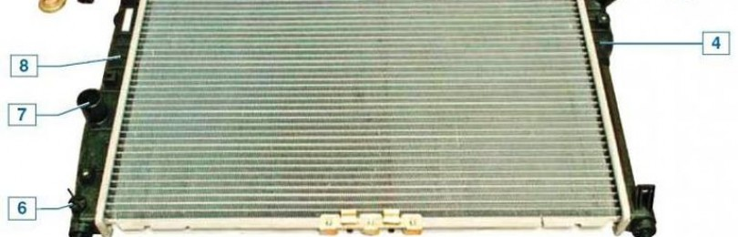 Замена радиатора системы охлаждения Шевроле Ланос