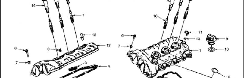 Момент затяжки резьбовых соединений Шевроле Каптива