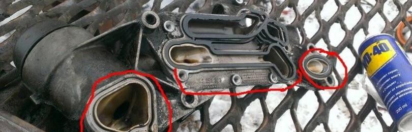 Замена прокладок теплообменника Chevrolet Cruze