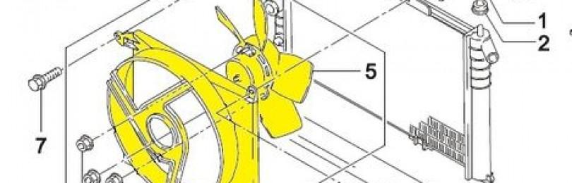Не включается вентилятор радиатора ДЭУ Нексия: причины