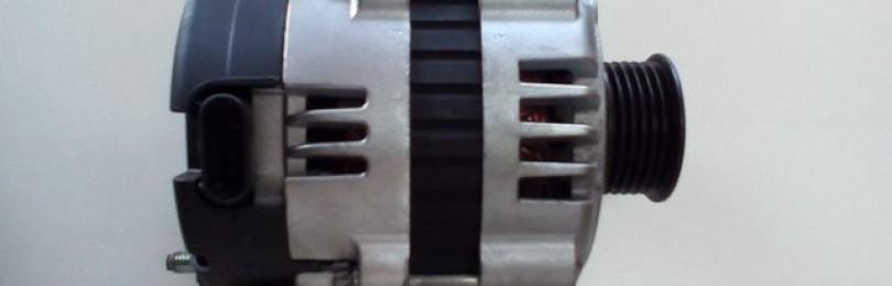 Замена генератора Chevrolet Aveo new