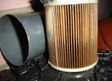 Замена топливного фильтра СсангЙонг Кайрон (дизель)