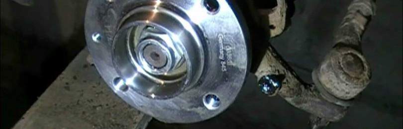 Замена переднего ступичного подшипника и ступицы на Chevrolet Epica