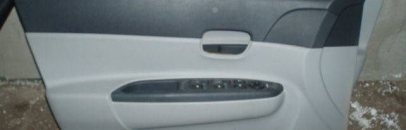 Снятие обивки передней двери Hyundai Accent