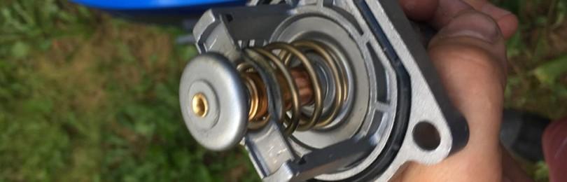 Замена термостата Шевроле Авео Т300