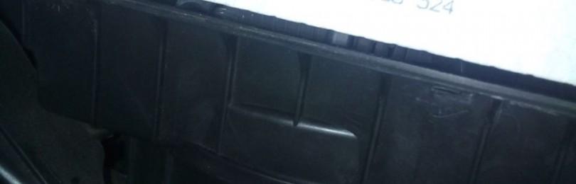 Замена фильтра салона Chevrolet Spark