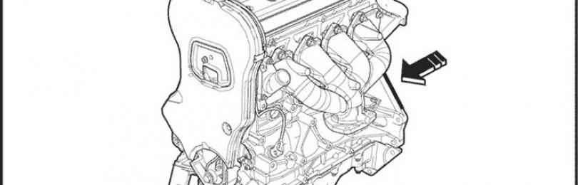 Где находится номер двигателя на Шевроле Кобальт