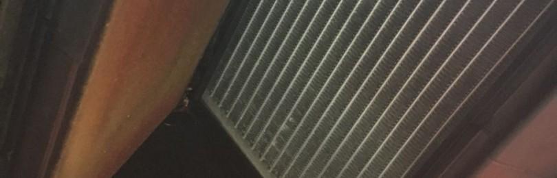 Замена радиатора отопителя Хендай Соната
