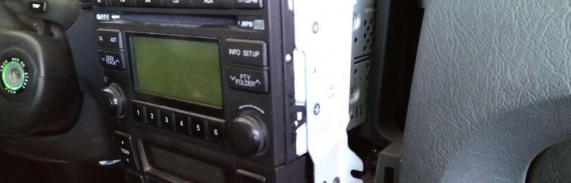 Как снять штатную магнитолу на Хендай Туксон: фото и видео