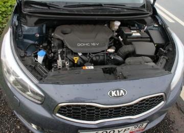 Объём двигателя KIA CEED