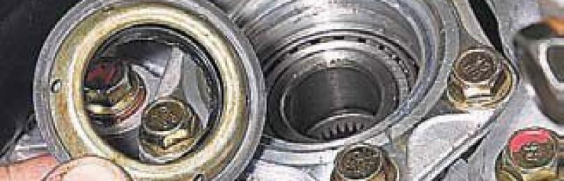 Замена сальника привода Chevrolet Lacetti