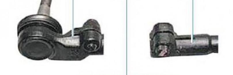 Замена рулевой тяги Шевроле Ланос