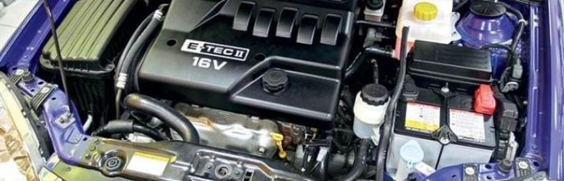 Объём двигателя Chevrolet Lacetti