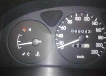 Рабочая температура двигателя Daewoo Lanos