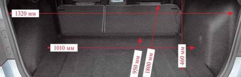 Объём багажника Шевроле Круз