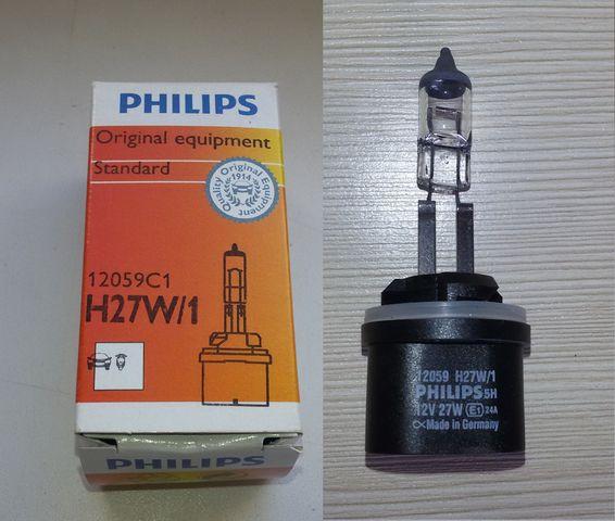 Лампочка Филипс в ПТФ Шевроле Лачетти