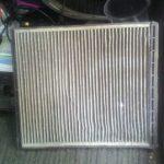 Старый фильтр салона Авео
