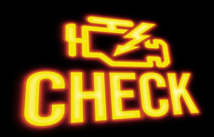 автомобильный значок Чек