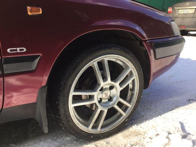 Нештатны колёса Дэу Эсперо
