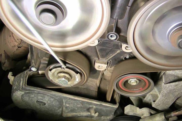 Привод двигателя Шевроле Авео