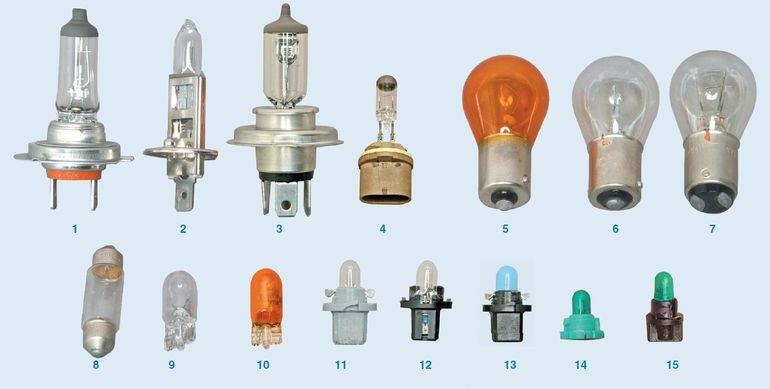 Лампы для использования в Шевроле Авео