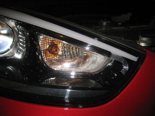 Меняем лампу поворотов Хендай ix35