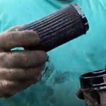 Засоренный масляный фильтра Хендай Туксон