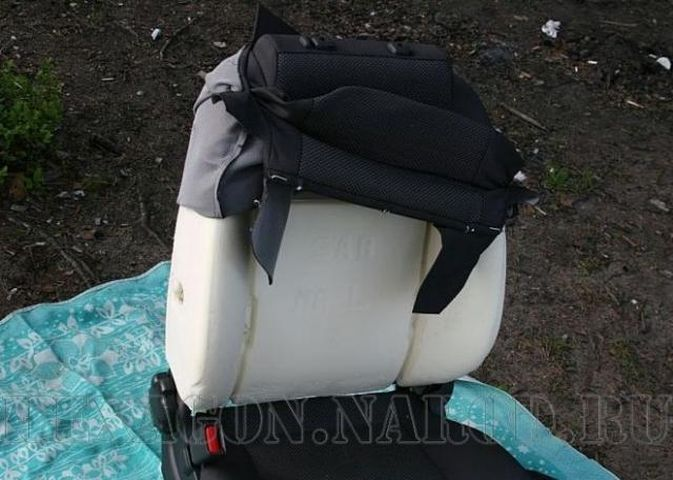 Обшивка кресла Шевроле Авео