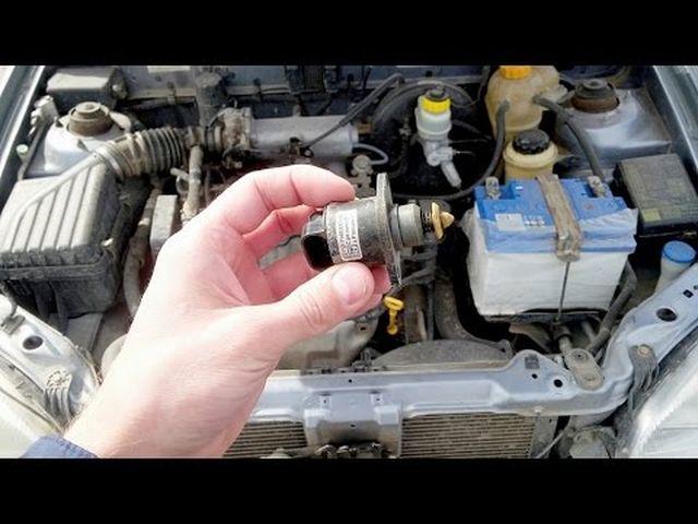 Двигатель Дэу Ланос работает с перебоями на холостом ходу