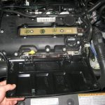Защитная крышка мотора Шевроле Круз